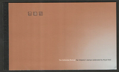 Dx 20  2002 Of The Wilding Definitive Portrate  Royal Mail Prestige  Booklet