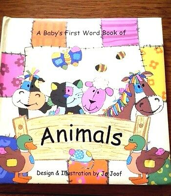 A Baby's First Words Book of Animals, Children's Board Books...