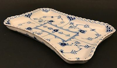 Squared Serving Tray #1195 - Blue Fluted - Royal Copenhagen