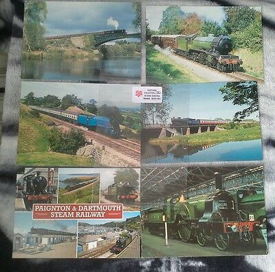 Trains      Railway   Collection Of Postcards   Lot  30
