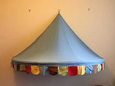 Ikea Childrens Circus Big Top Bed Tent/Canopy