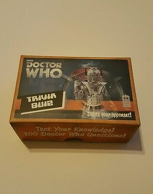DOCTOR WHO * BBC Trivia Quiz * 100 Doctor Who Questions * Marks & Spencer * NEW