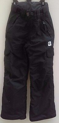 Boy's Black Outdoor/hiking Trousers - Size 8 Years - Ripcurl