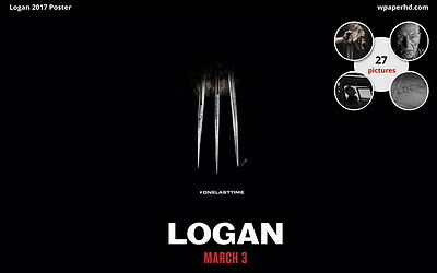 "016 The Wolverine 3 - Hugh Jackman Action 2017 Movie 38""x24"" Poster"