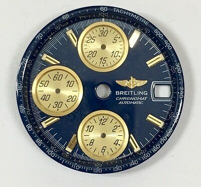 Genuine Breitling Chronomate Automatic Bllue Dial Dial-C532 29.8Mm