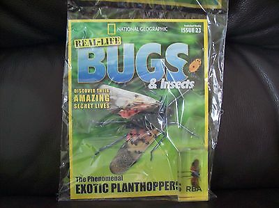 National Geographic Real-life Bugs & Insects magazine Issue 23