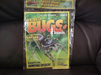 National Geographic Real-life Bugs & Insects magazine Issue 25