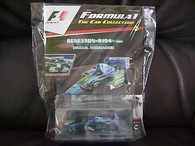 Formula 1 The Car Collection Part 22 Benetton B194 1994 Michael Schumacher