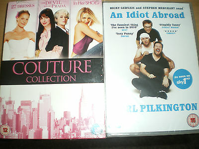 An Idiot Abroad/ Couture Collection 3 Dvd Set (4 Dvd,s)
