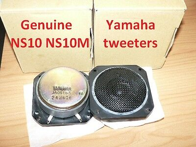 Brand new Genuine Yamaha tweeters for NS-10 NS-10M studio monitor JA0518A pair