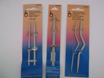 Pony Cable Needles Assorted Sizes