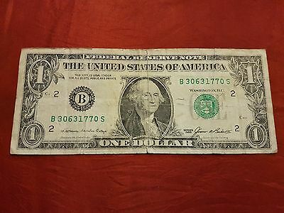 US Bank Note - One Dollar Note - $1 - (#1107.3)