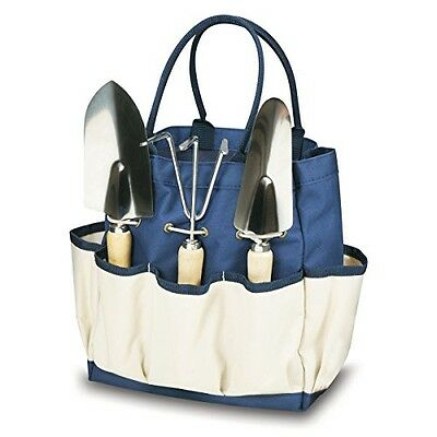ONIVA - a Picnic Time brand Picnic Time 'Garden Tote' with Tools, Navy/Cream