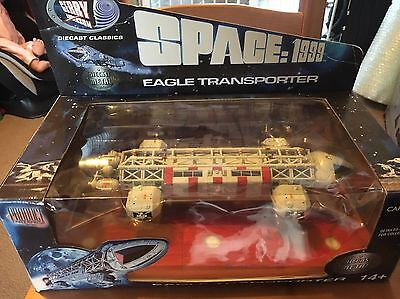 space 1999 eagle 1 transporter Rare Diecast Gerry Anderson Boxed Figure New