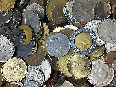 Bulk world coins, in lots of 50 coins