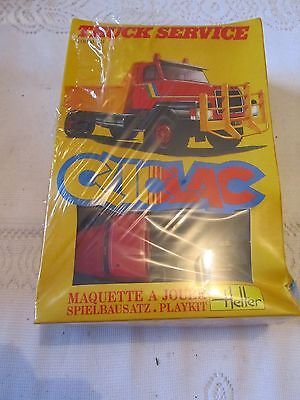 Maquette Heller Cliclac N°2008 « VOLVO N°12 TRUCK SERVICE ».neuf sous Blister