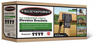Elevator Brackets Compound Angle Double 8 Summit Outdoor E1088 Safe and Strong