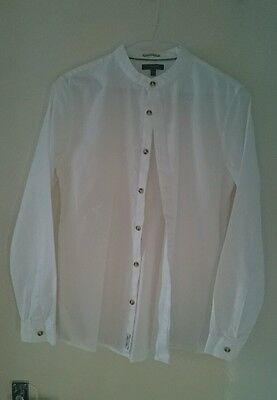 Boys white shirt, Autograph, size 13-14 years.