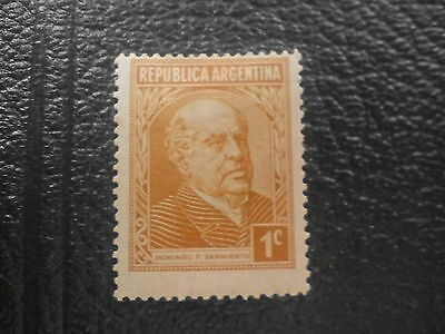 Argentine Republic 1935-36 Early Issue Fine Mint Hinged 1c.