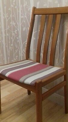 6 Vintage wooden dining chairs- Findahls Mabler Co.