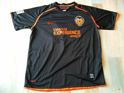 Maillot FOOT NIKE VALENCIA CF N°15 JOAQUIN TAILLE/XL/D7 TBE