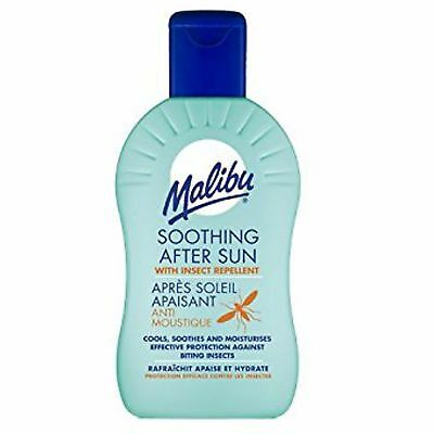 Malibu Soothing After Sun Lotion 200Ml With Insect Repellent - Anti Mosquitoes