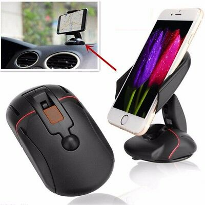 Foldable Mouse Car Dashboard Windscreen Suction Mobile Phone Mount Holder Stand