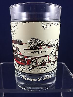 Vintage! Drinking Glass - Arby's Collectors Series - The Road in Winter - 1981