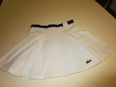 ancienne jupe tennis LACOSTE