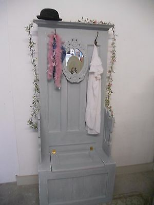 Shabby Chic Hall Stand painted in Annie Sloan Paris Grey