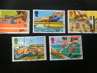 1986 -13th  Commenwealth Games - used set