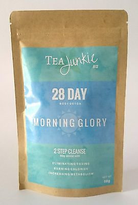 Tea Junkie AU Teatox - 28 Day Body Detox Single - Morning Glory