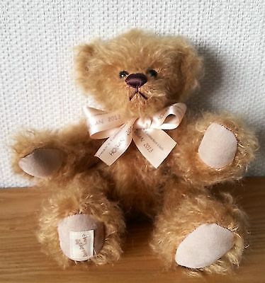 """DEANS COLLECTORS CLUB BEAR 2013 """"HOGAN"""" - L/Edition FULLY JOINTED BEAR"""
