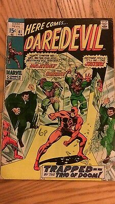 Daredevil #61 - Marvel Comics First Print