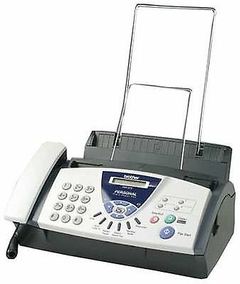 Brother FAX-575 Personal Fax Phone and Copier Convenient 50-Sheet Capacity