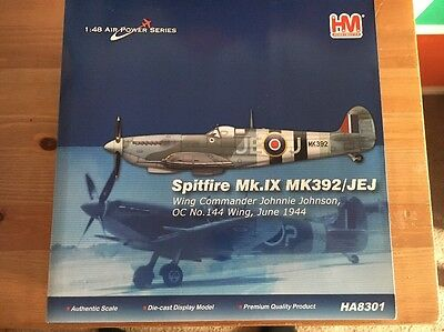 Hobby Master 1/48 Scale - HA8301 Spitfire MK392 Diecast Model Plane New Boxed