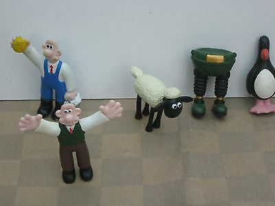 Wallace And Gromit Collectable Figures