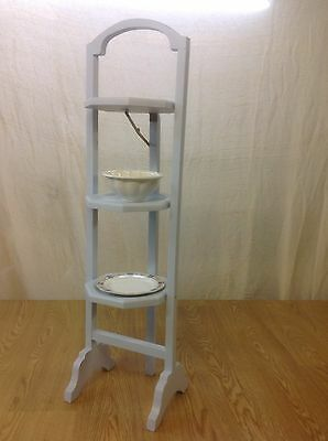Painted Wooden Vintage folding cake stand