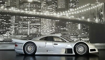 1.18 mercedes clk gtr Street version. unboxed