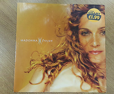 "MADONNA Frozen 12"" Vinyl Single W0433T"