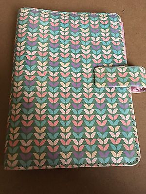 POCKET FILOFAX WILLOW POCKET PERSONAL SIZE PINK With Dividers And Note Paper