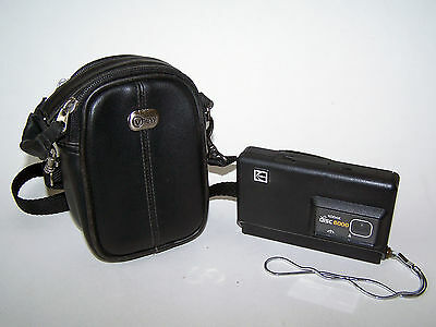 **CLOSEOUT** Vintage Kodak Disc 6000 Camera with Leather Camera Case