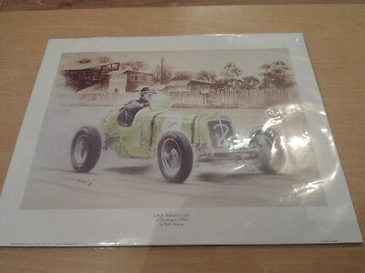 Bob Murray E.R.A. Nuffield Trophy At Donington 1934 Print 2001 Newcomers Gall.