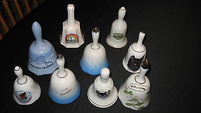 Bell Collection Large Lot Of Various Types Of Bells