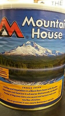 Mountain House Emergency Freeze Dried Food Chicken with Veg and Noodles 840g