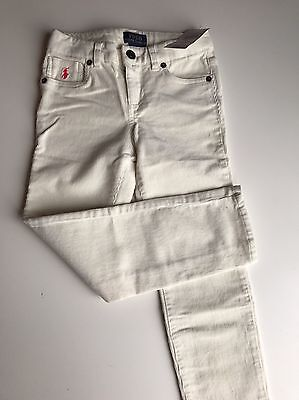 BNWT Polo Ralph Lauren Girls Designer Jeans Trousers  Size 6 Rrp £55