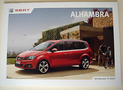 Seat . Alhambra . Seat Alhambra . February 2016 Sales Brochure