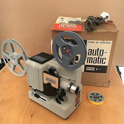 WORKING EUMIG P8 Automatic Novo 8MM CIne Movie Film Projector Quality Silent