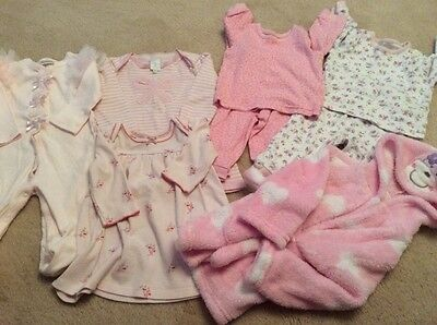 GIRLS 6-9 mnths BABYGROW,SUITS,DRESSES,DRESSING GOWN,CONRAN,M&S,NEXT,GEORGE ETC