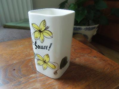 Vintage Sauce Container by Toni Raymond.  1960's